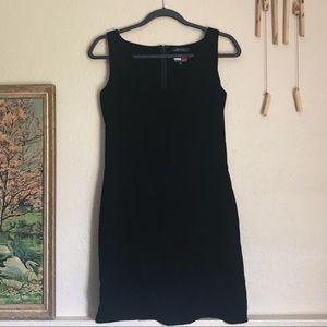 Tommy Hilfiger Black Velvet Mini Dress